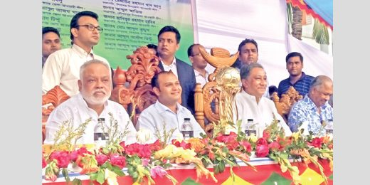 Prize giving ceremony of Sheikh Russell Smriti Gold Cup held