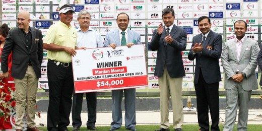 Mardan Mamat wins first Basundhara Bangladesh Open
